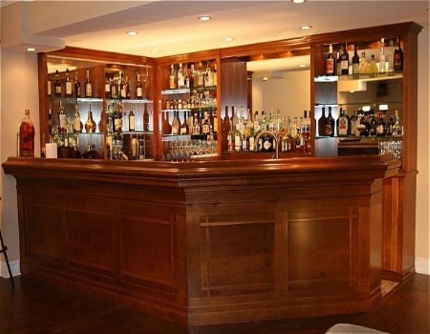 Custom bar ba12 Home pub bar furniture